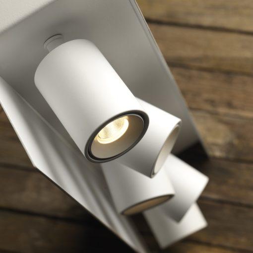 SASHA 150 D proiettore multiplo orientabile a parete o soffitto