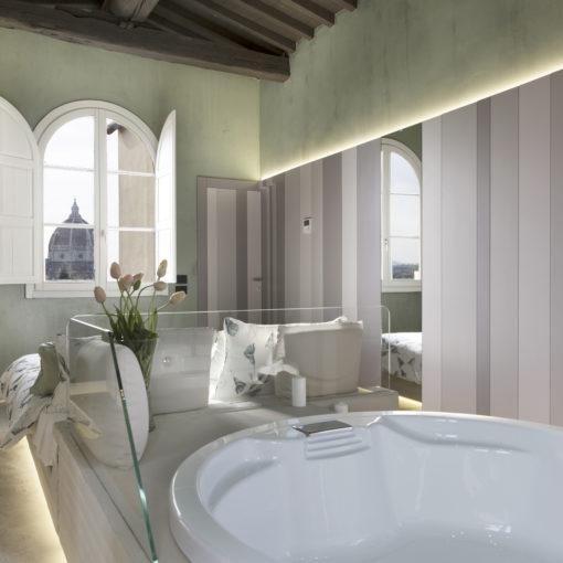 Realizzazione Suite Panoramica Firenze, Arch Lapo Grassellini, vasca