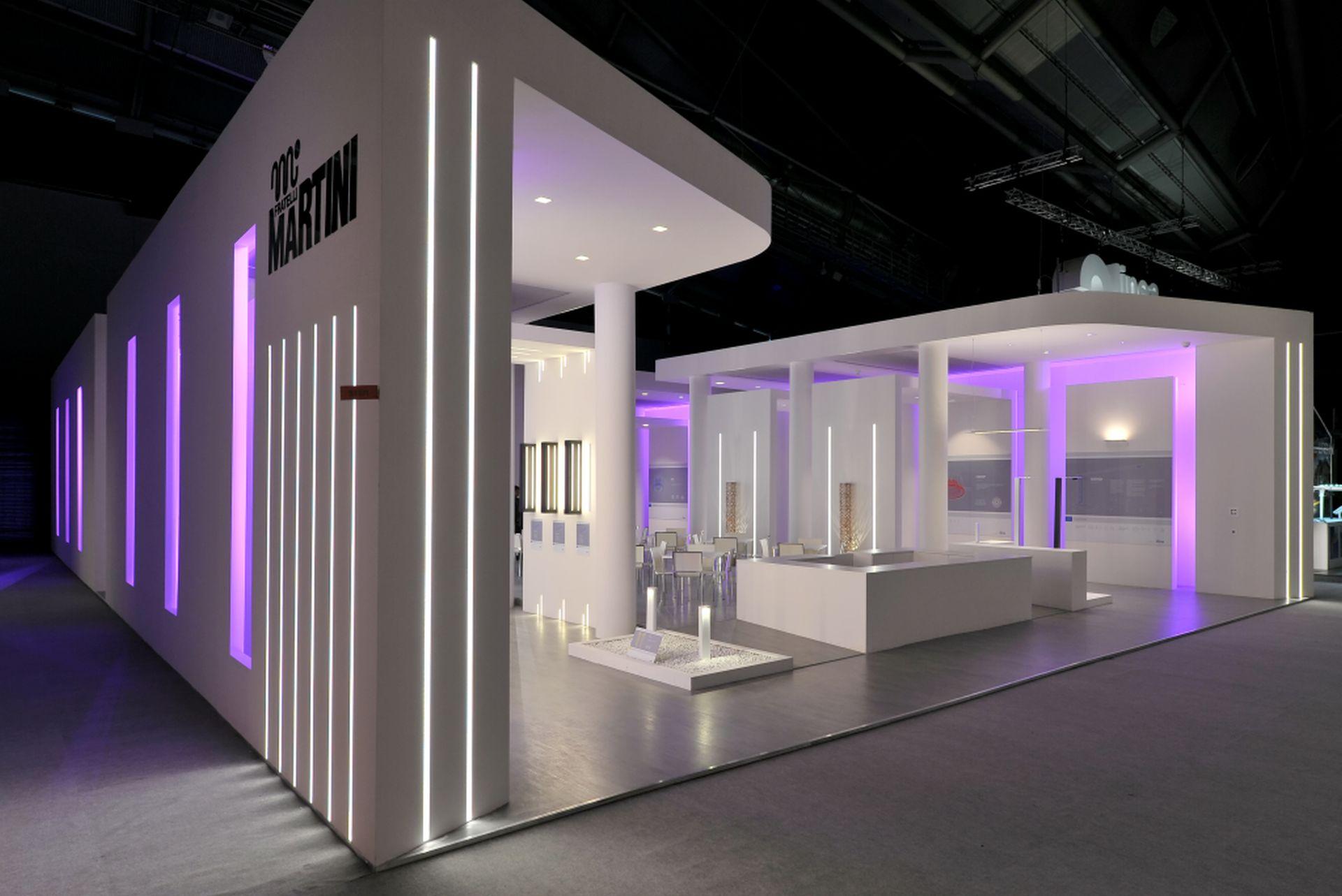 Progettazione Stand Fieristici, Martini Light Booth