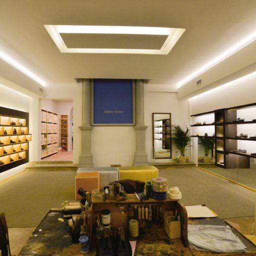 Progettazione Showroom Stefano Bemer, Arch Lapo Grassellini